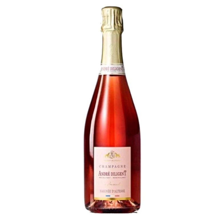 Champagne André Diligent Saignée d'Altesse Rosé