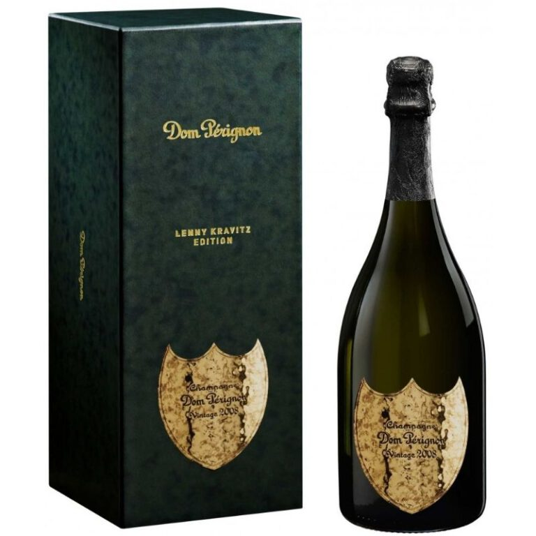 Dom Pérignon Lenny Kravitz Edition 2008 Gift Box