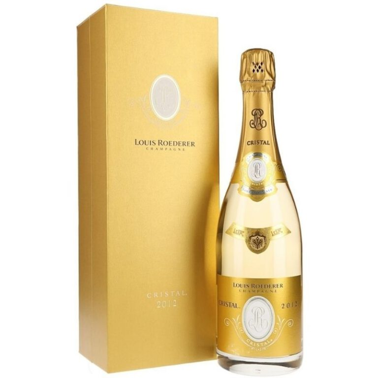 Louis Roederer Cristal 2012 Gift Box
