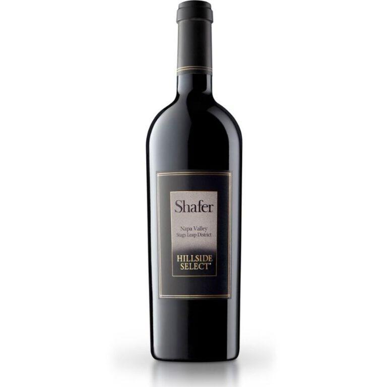 Shafer Vineyards Hillside Select 2015