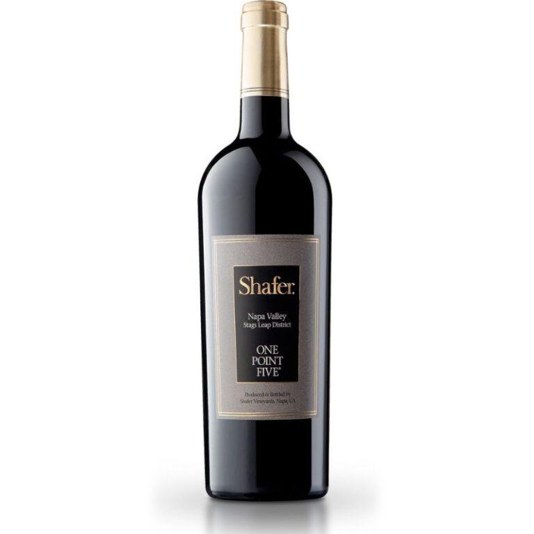 Shafer Vineyards One Point Five Cabernet Sauvignon, 2016